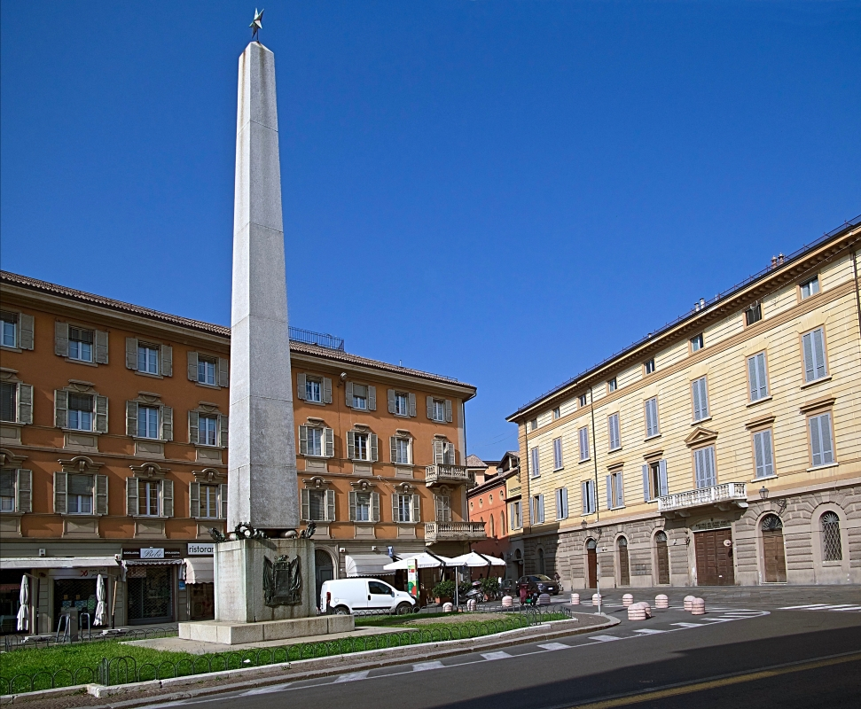 Piazza Riversi attigua alla basilica della Ghiara - Caba2011 - Reggio nell'Emilia (RE)