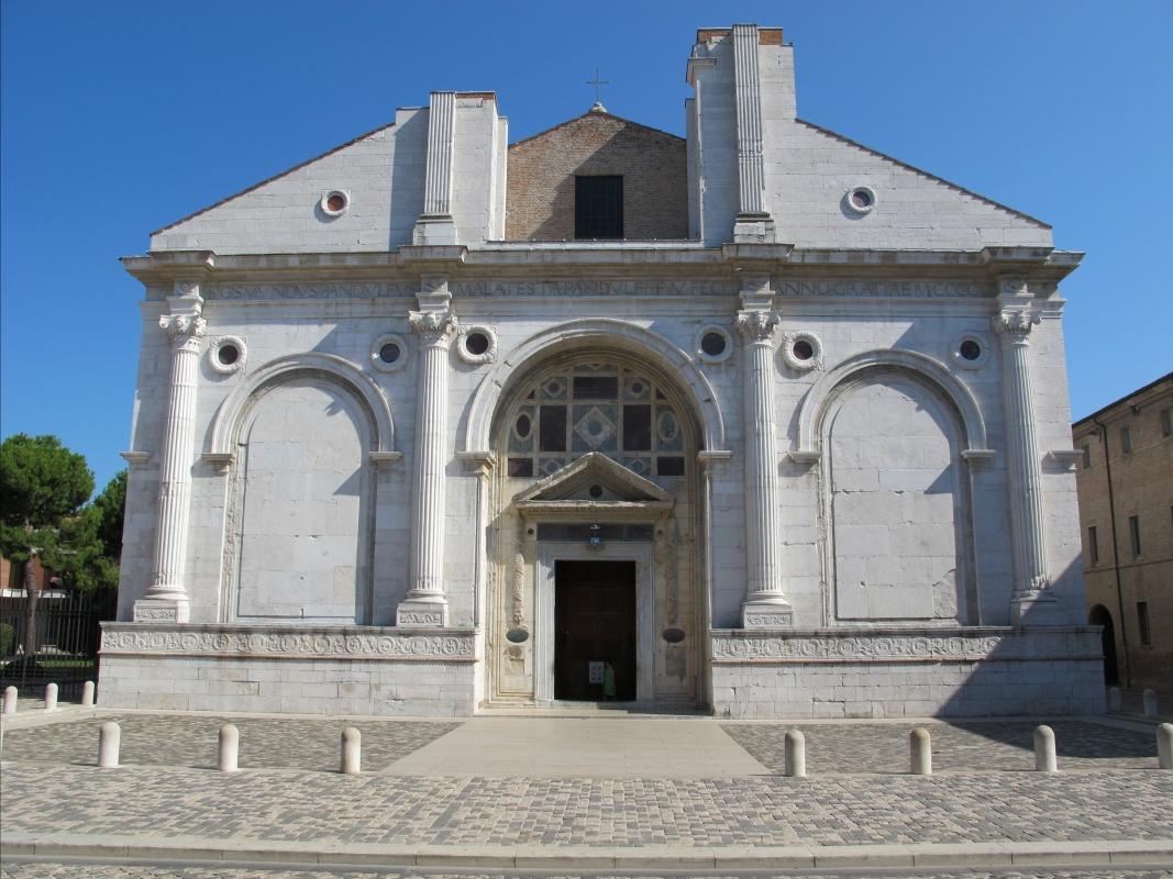 Tempio malatestiano, esterno 04 - Sailko - Rimini (RN)