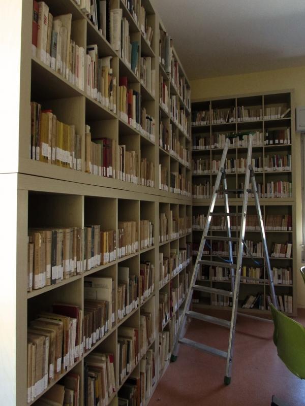 La biblioteca nella casa della cultura a Montefiore Conca - LaraLally19 - Montefiore Conca (RN)