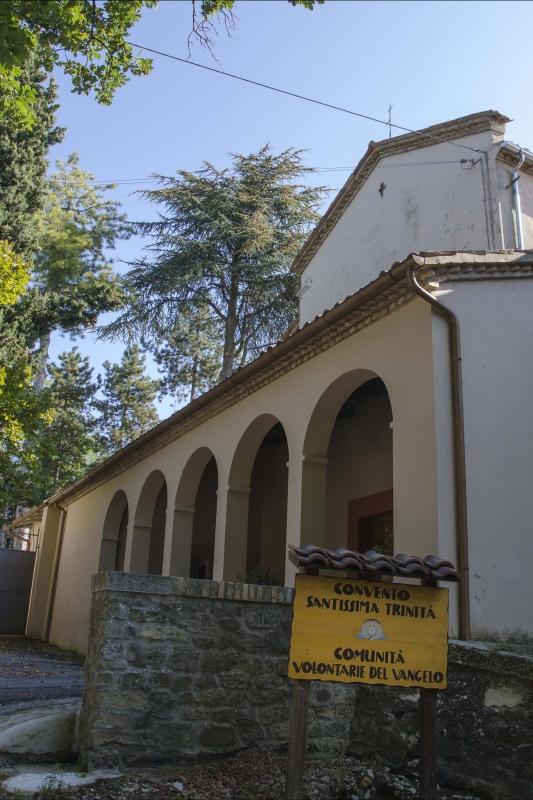 CHIESA DEI CAPPUCCINI - ESTERNO - FabioFromItaly - Montefiore Conca (RN)