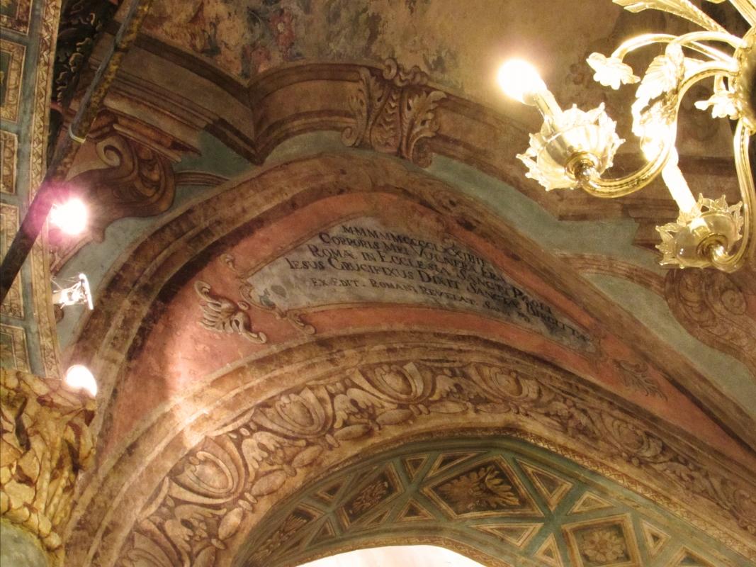 Chiesa San Paolo particolare della cappella del Crocifisso con la preghiera di Santa Brigitta - LaraLally19 - Montefiore Conca (RN)