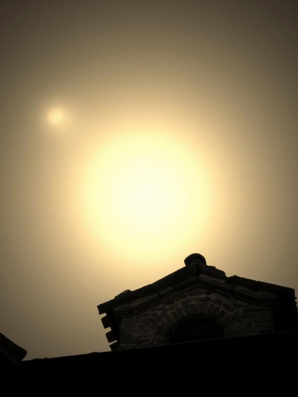 Sole velato sulla Porta - LaraLally19 - Montefiore Conca (RN)