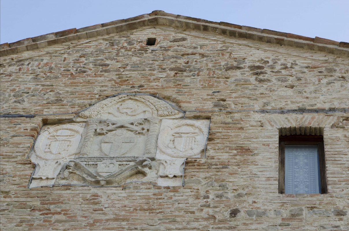 PORTA CURINA (PARTICOLARE FACCIATA) - FabioFromItaly - Montefiore Conca (RN)