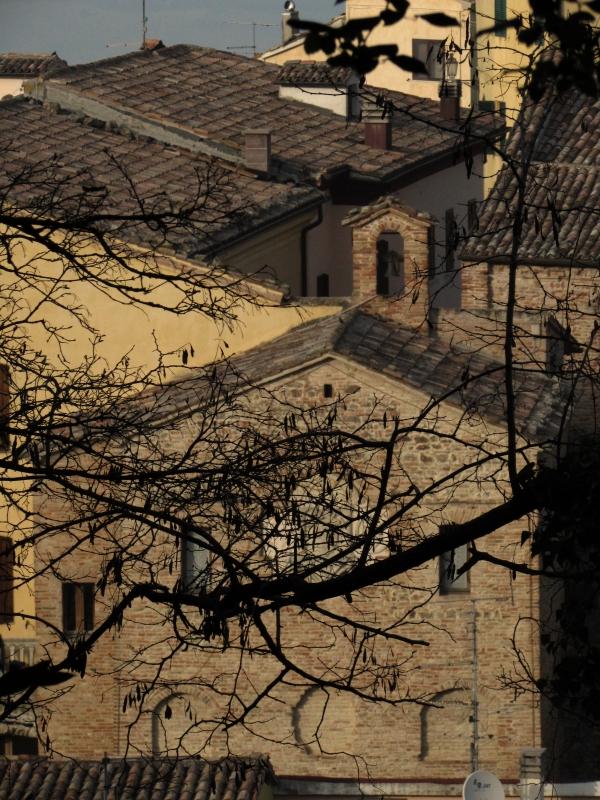 Porta Curina dal monte - LaraLally19 - Montefiore Conca (RN)