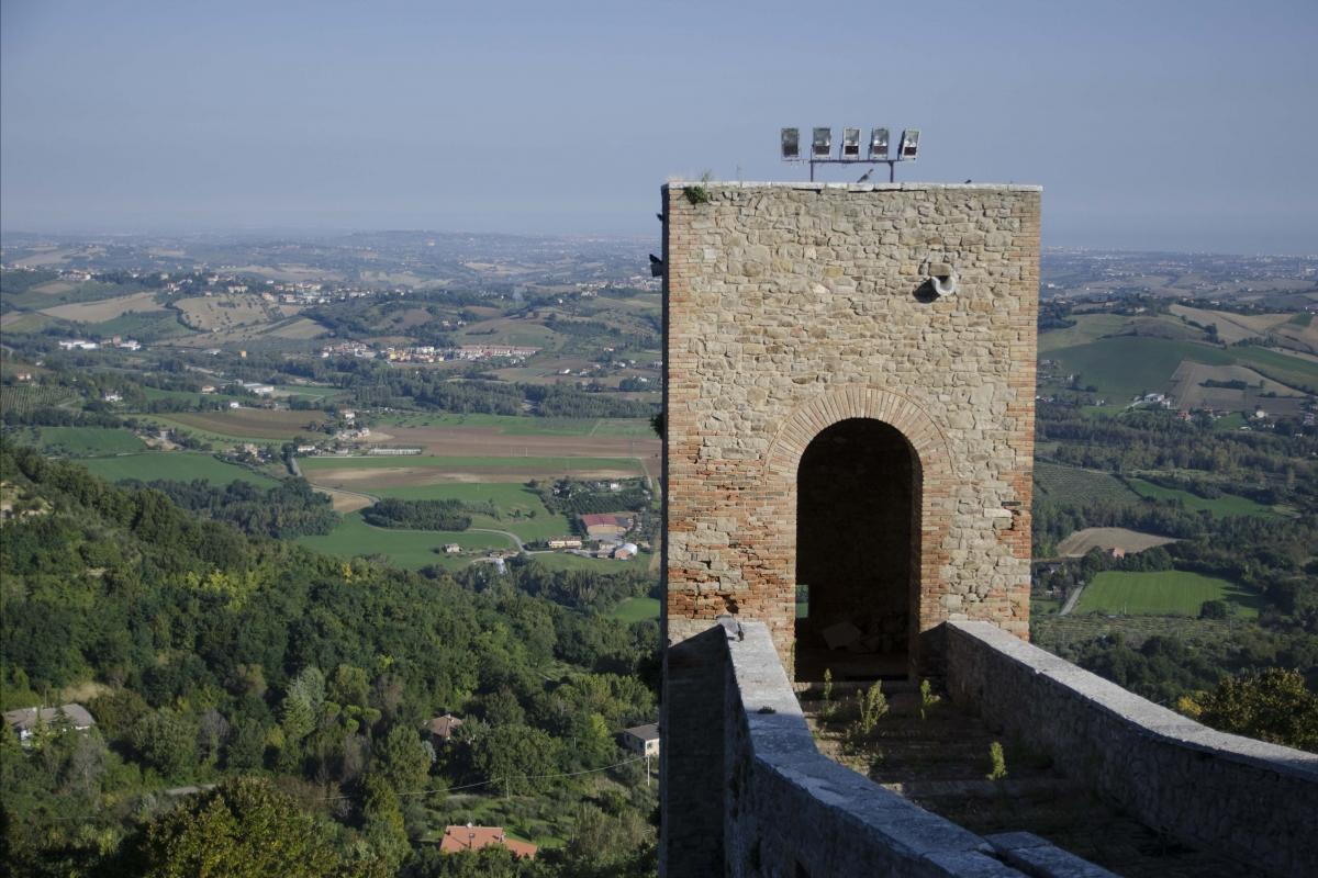 ROCCA MALATESTIANA - TORRIONE - FabioFromItaly - Montefiore Conca (RN)