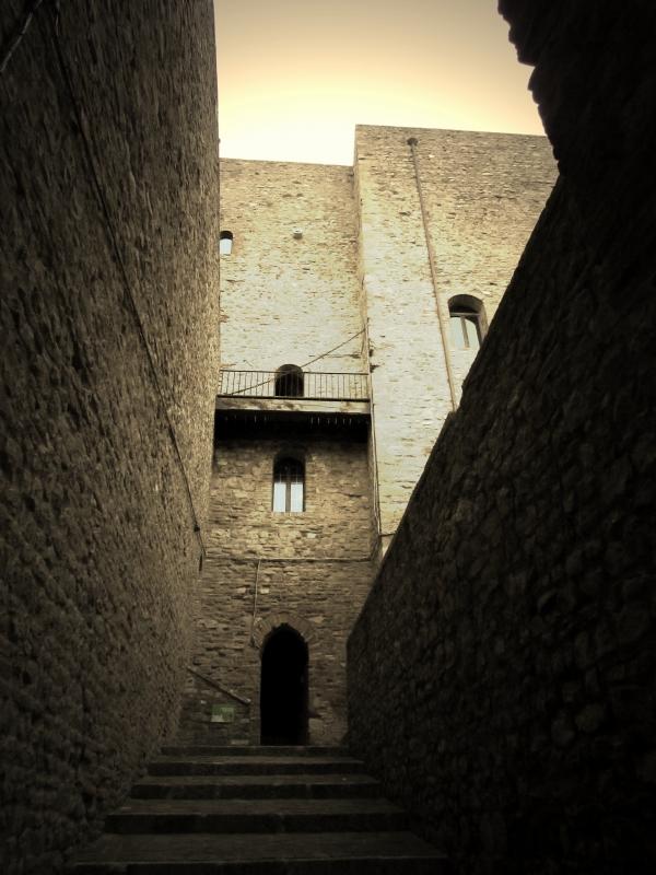 Ingresso della Rocca - LaraLally19 - Montefiore Conca (RN)