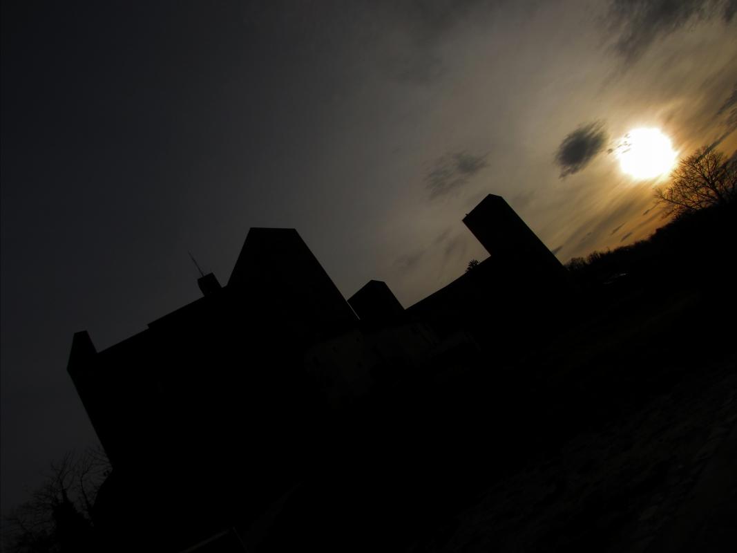 La rocca ed il suo tramonto - LaraLally19 - Montefiore Conca (RN)
