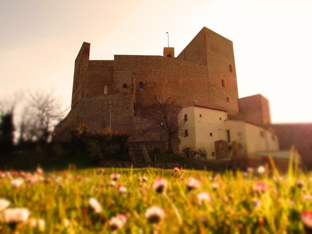 Il castello Malatestiano e la sua primavera - LaraLally19 - Montefiore Conca (RN)