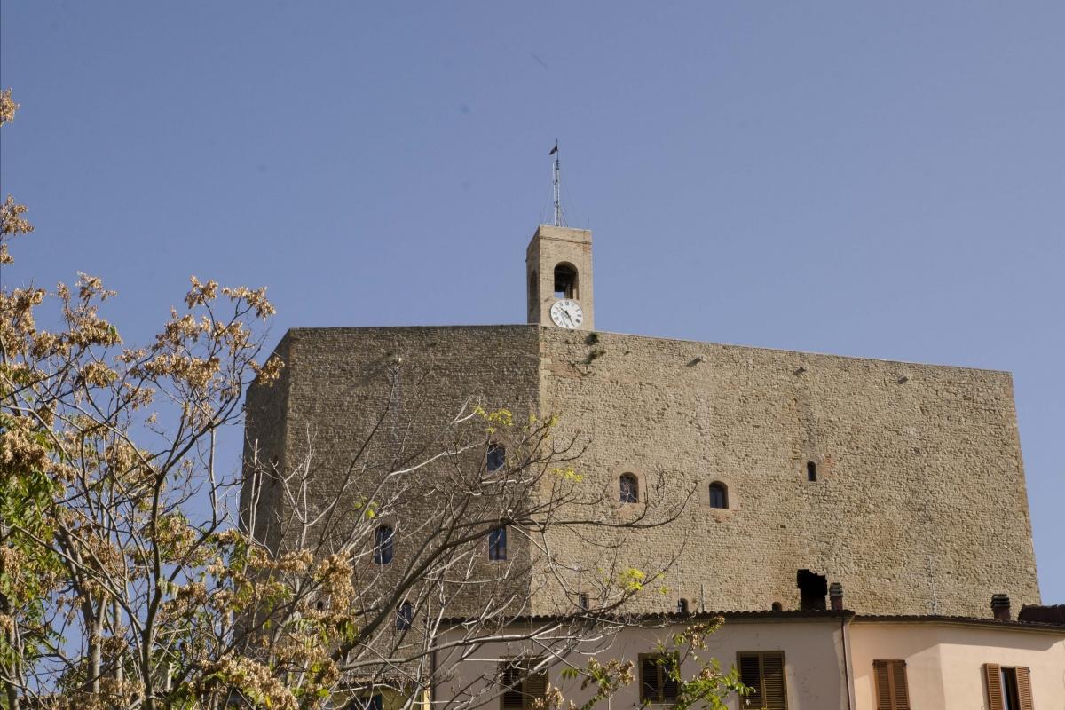 ROCCA MALATESTIANA - ESTERNO FACCIATA SUD - FabioFromItaly - Montefiore Conca (RN)