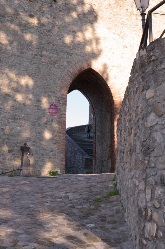 Rocca Porta di cinta - Loris Temeroli - Montefiore Conca (RN)