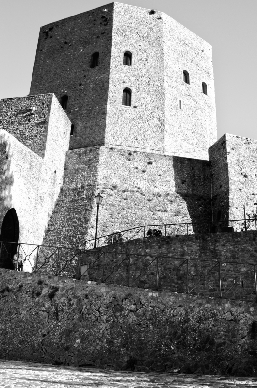 Rocca HDR B&W - Loris Temeroli - Montefiore Conca (RN)