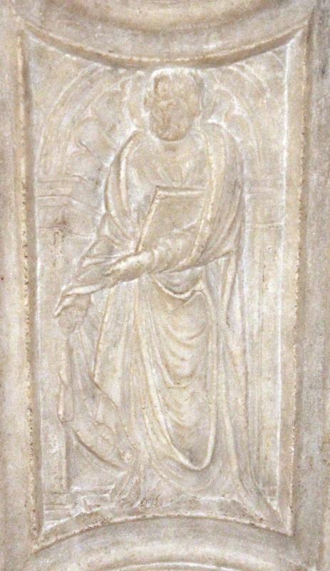 Sagrestia della cappella delle Virtù, portale 10,1 - Sailko - Rimini (RN)