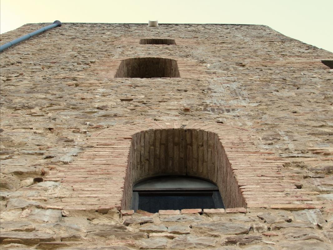 Le antiche mura della Rocca - Larabraga19 - Montefiore Conca (RN)