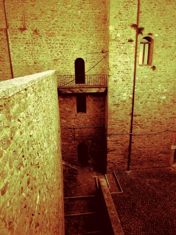 Il cortile - Larabraga19 - Montefiore Conca (RN)