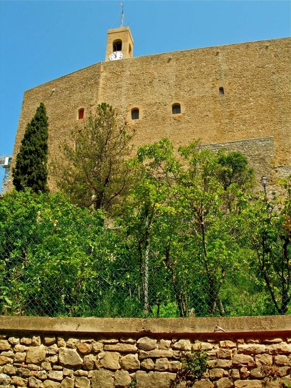 Le inespugnabili mura della Rocca - Caba2011 - Montefiore Conca (RN)
