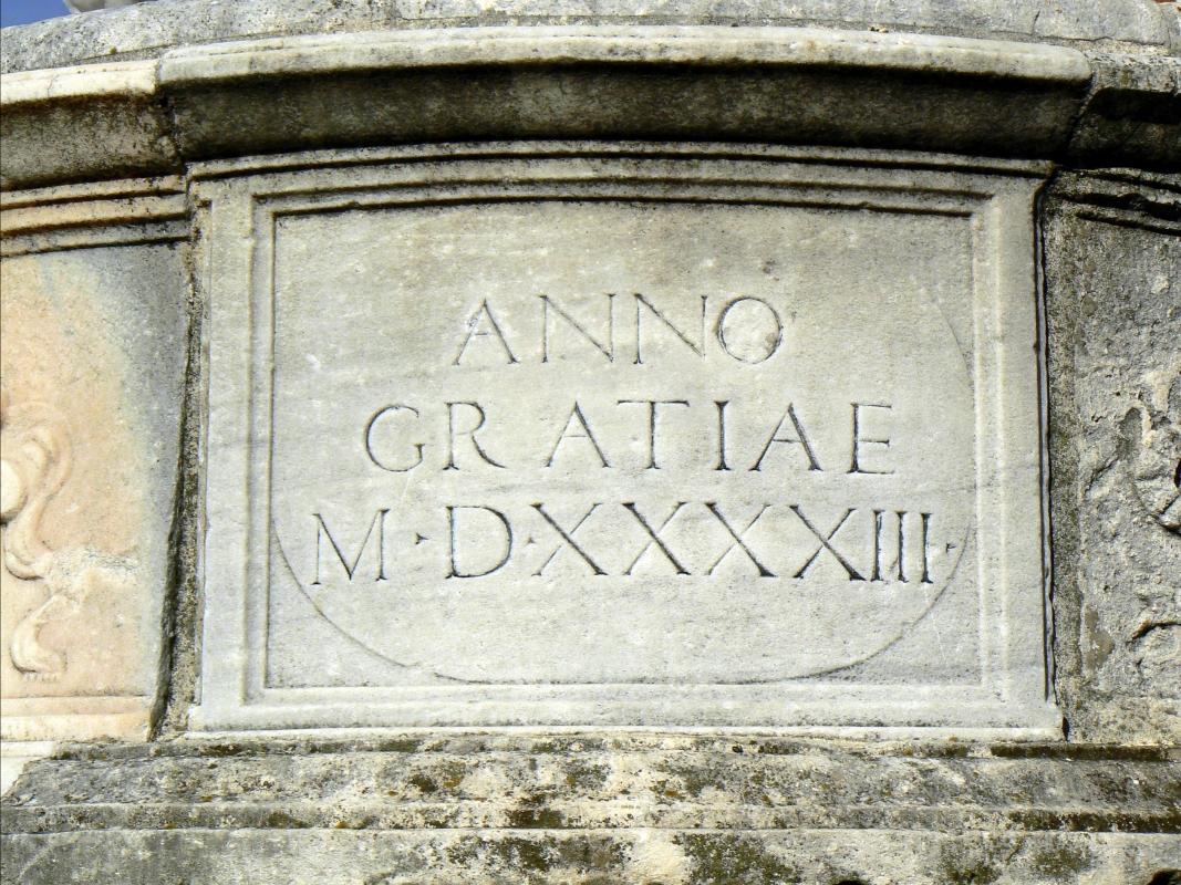Particolare fontana della pigna - Rimini 10 - Paperoastro - Rimini (RN)