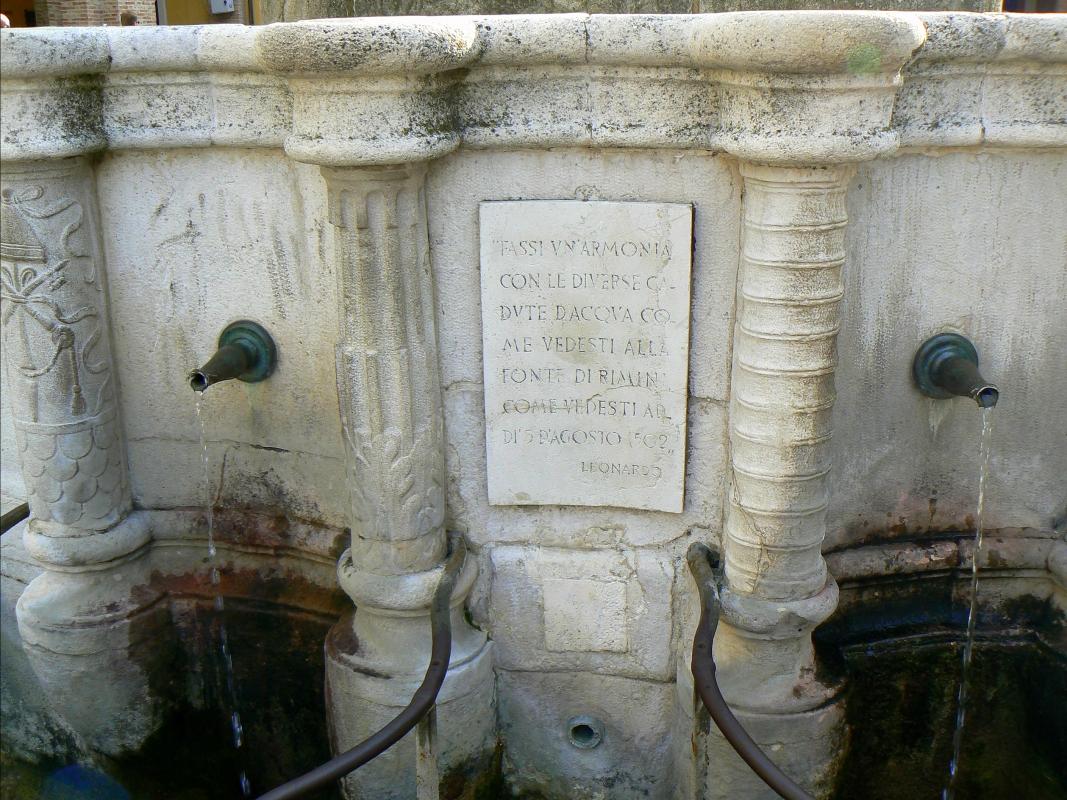 Particolare fontana della pigna - Rimini 5 - Paperoastro - Rimini (RN)