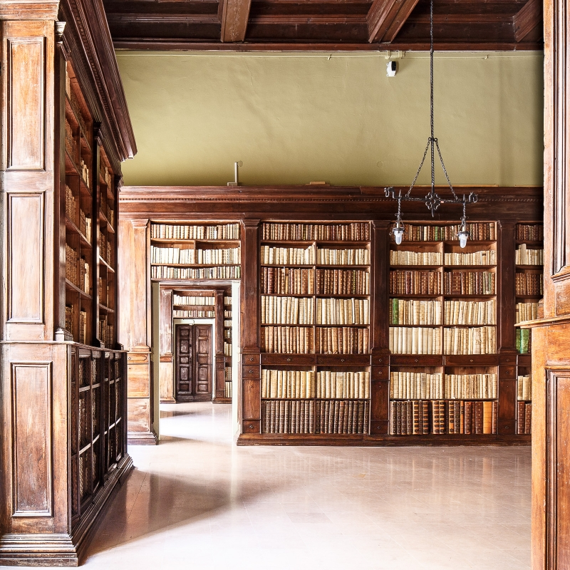 Biblioteca Gambalunga (Rimini)-5 - Sale seicentesche - Ivan Ciappelloni - Rimini (RN)