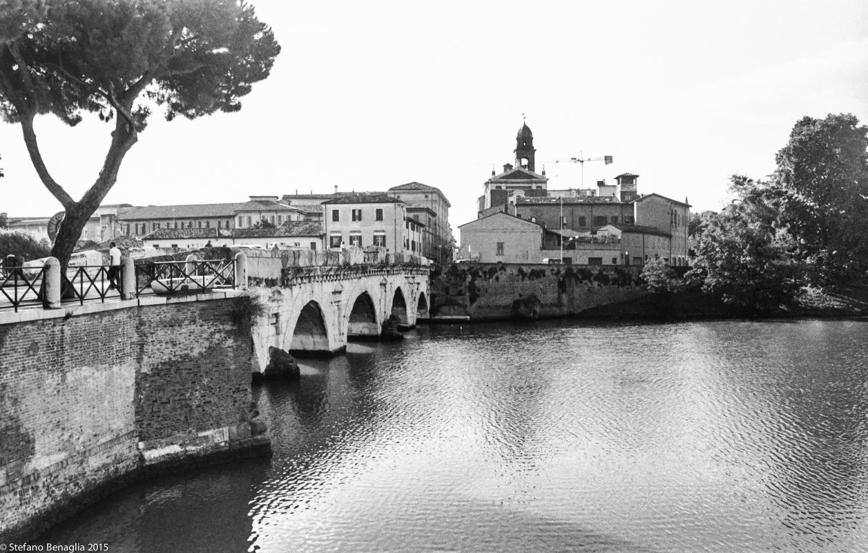 Ponte di Tiberio e Città - Stefano Benaglia - Rimini (RN)