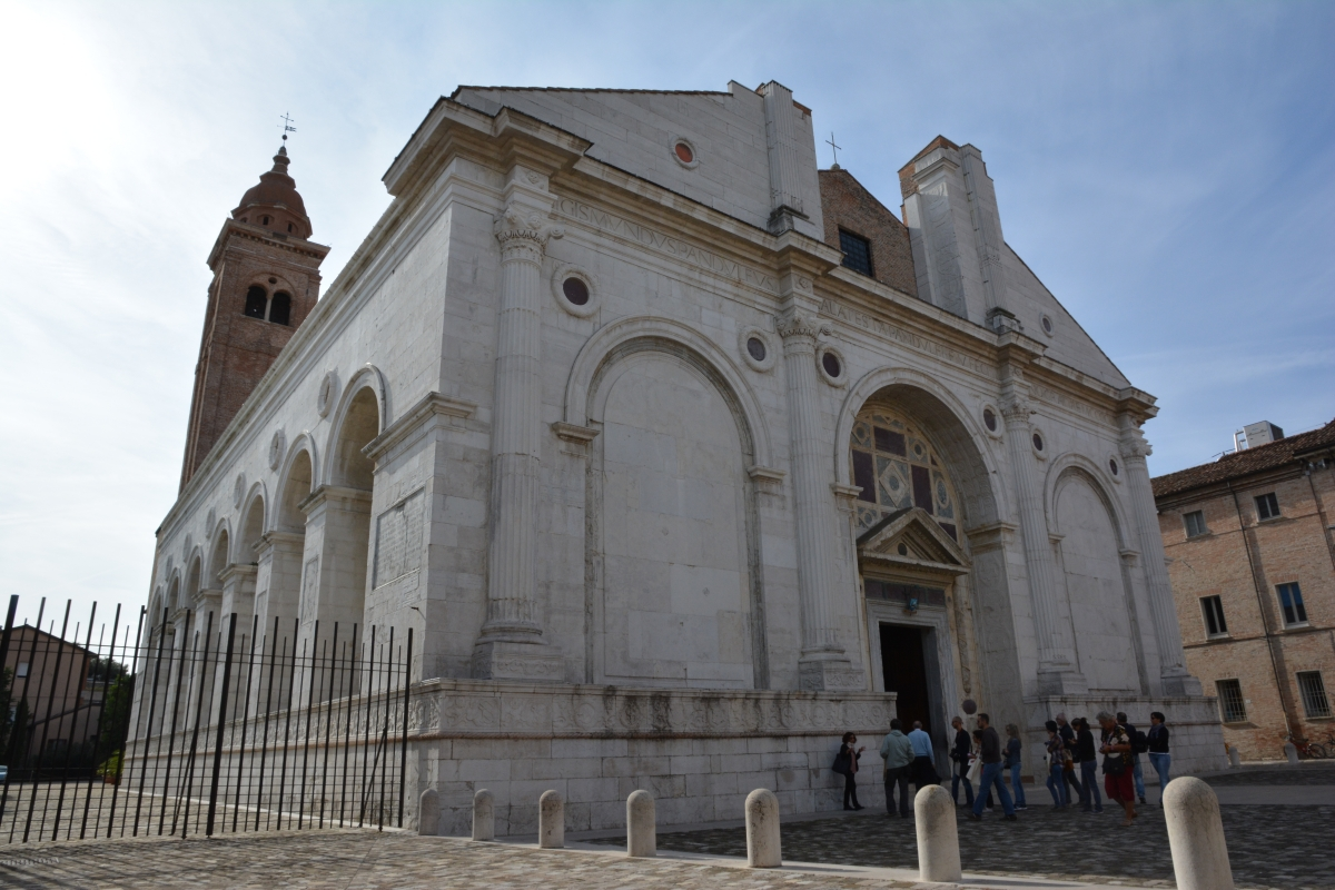 Tempio Malatestiano esterno DB-06 - Bacchi Rimini - Rimini (RN)