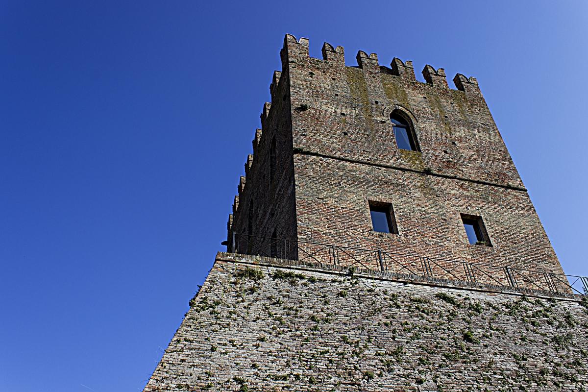 Scorcio Rocca Malatestiana - Fedestop - Mondaino (RN)