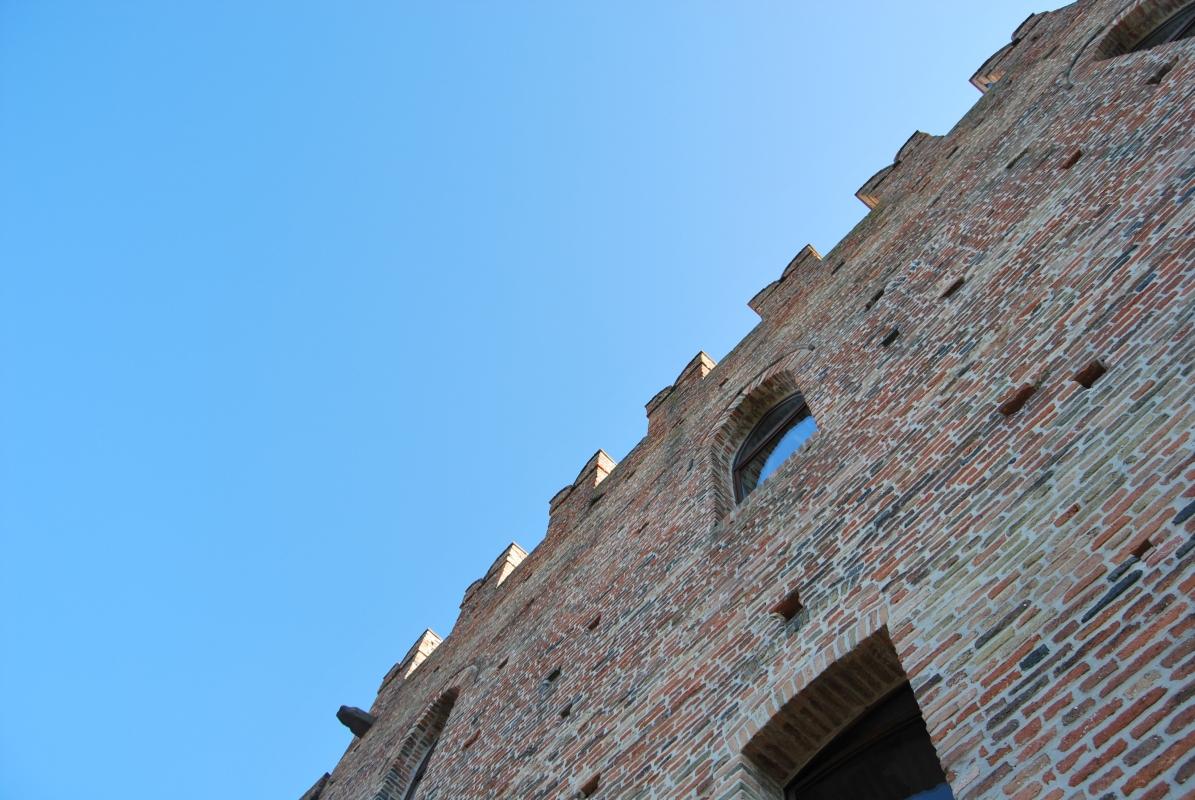 Particolare della Rocca Malatestiana - Chiari86 - Mondaino (RN)
