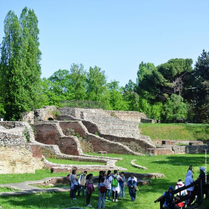 Wikilovesmonuments2016 - anfiteatro - Emilio Salvatori - Rimini (RN)