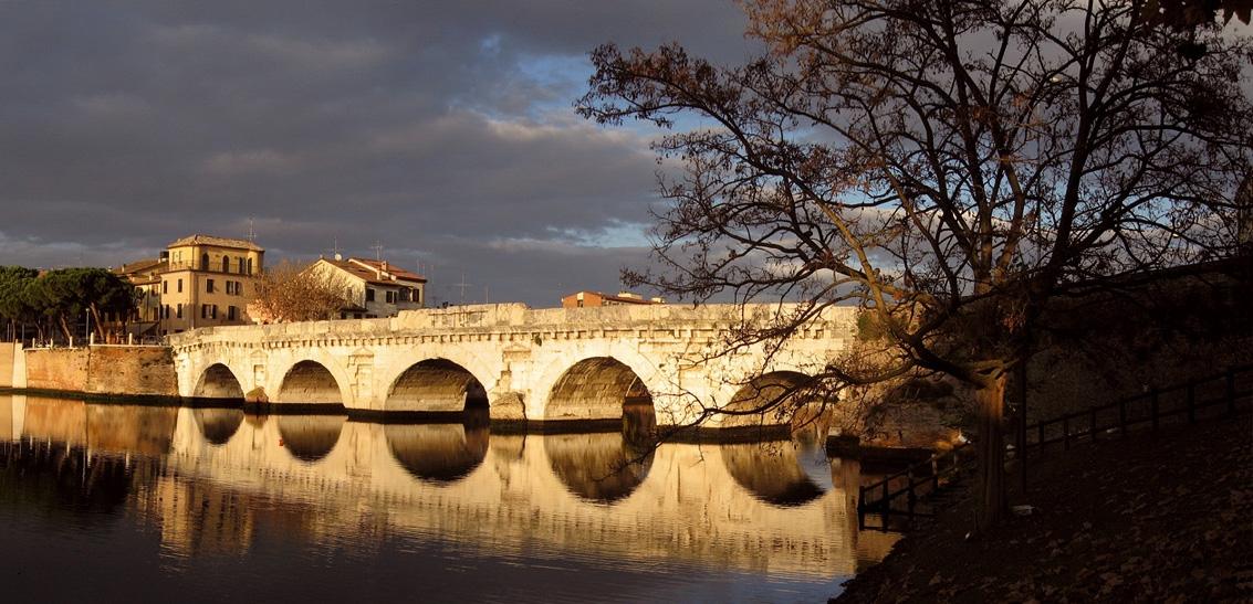 Ponte tiberio a - Emilio Salvatori - Rimini (RN)