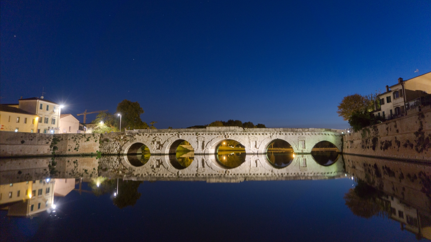 Notturna al Ponte di Tiberio - Jessica Bizzoni - Rimini (RN)
