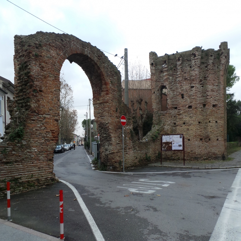 Wikilovesmonuments2016 - porta gervasona madonna della scala - Emilio Salvatori - Rimini (RN)