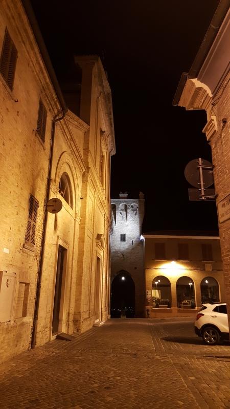 La chiesa di San Biagio e la Porta marina - Marco Musmeci - Saludecio (RN)
