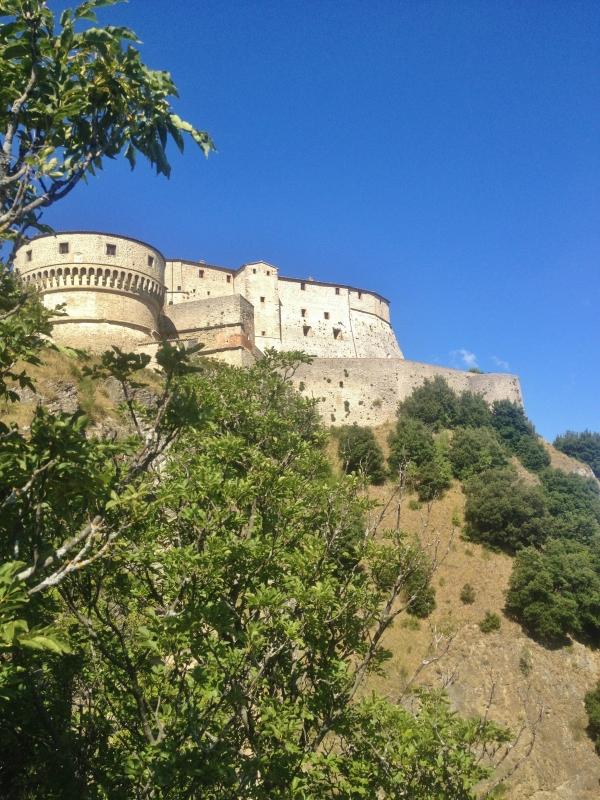Fortezza di San Leo Vista dal basso - Effepi93 - San Leo (RN)
