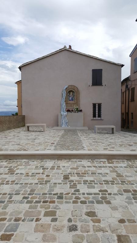 La Chiesa delle Grazie - Marco Musmeci - Mondaino (RN)