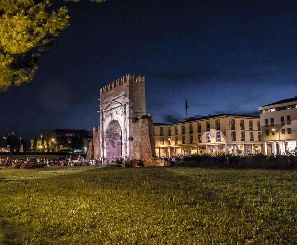 L'arco di Augusto a Rimini-25 - Massimo Saviotti - Rimini (RN)