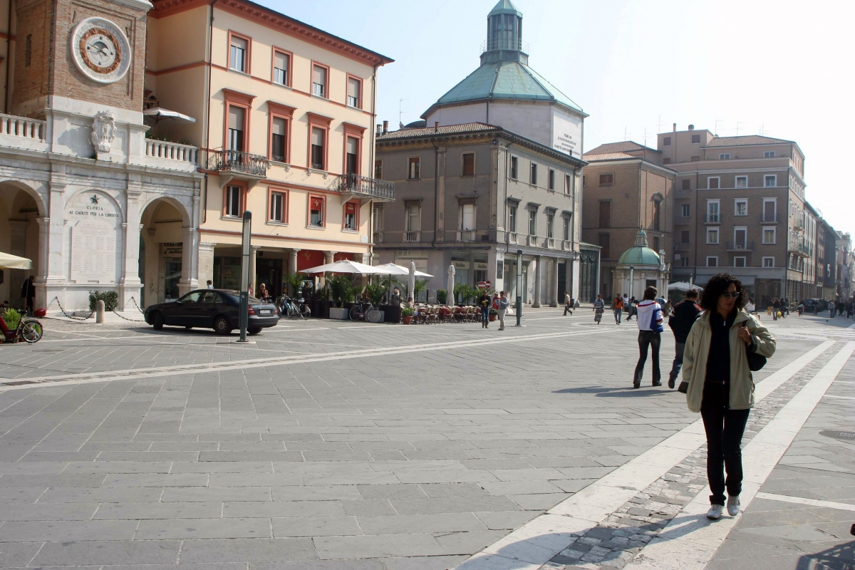 Rimini Piazza Tre Martiri by Saro Di Bartolo 02 - Saro di bartolo - Rimini (RN)