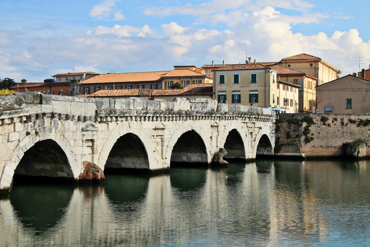 Ponte di tiberio a rimini - Milena di nella - Rimini (RN)