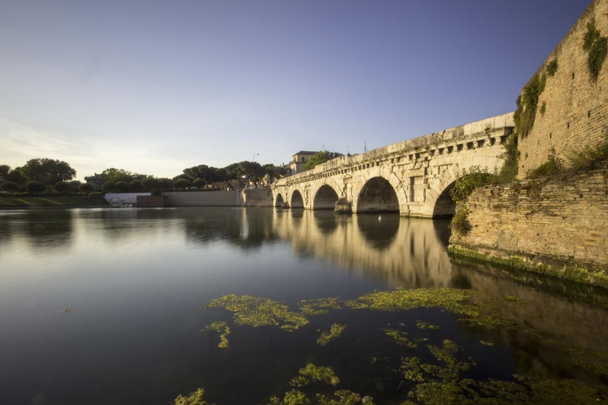 Ponte di Tiberio rimini - Marcello Terruli - Rimini (RN)