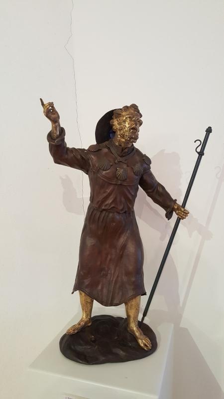 Statuetta di Santo Amato Ronconi - Marco Musmeci - Saludecio (RN)