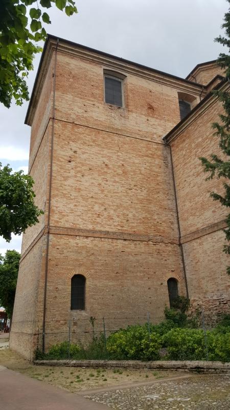 Abside della Chiesa di San Biagio - Marco Musmeci - Saludecio (RN)