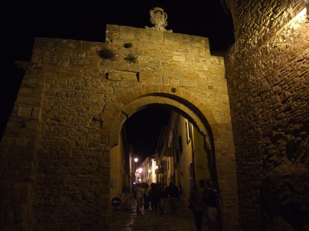 Porta di ingresso - San Leo 1 - Diego Baglieri - San Leo (RN)