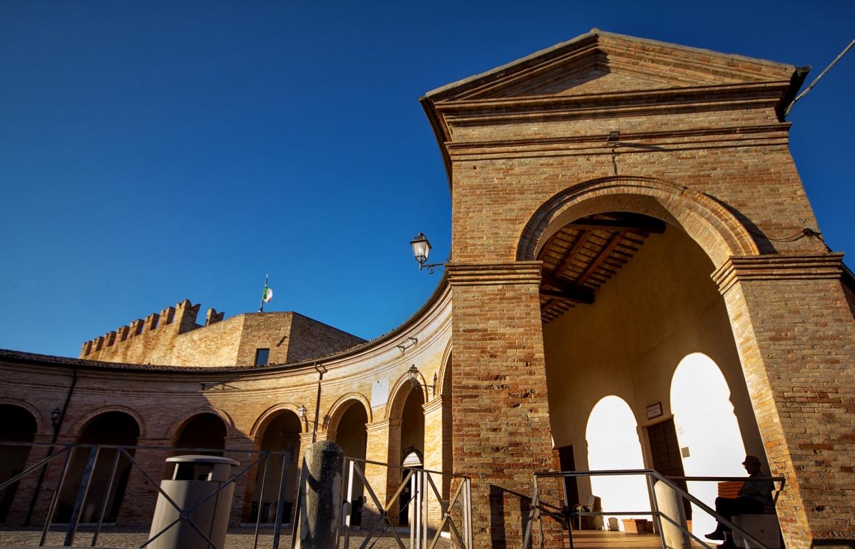 Mondaino - RN-Loggiato - SilviaTinti.com - Mondaino (RN)