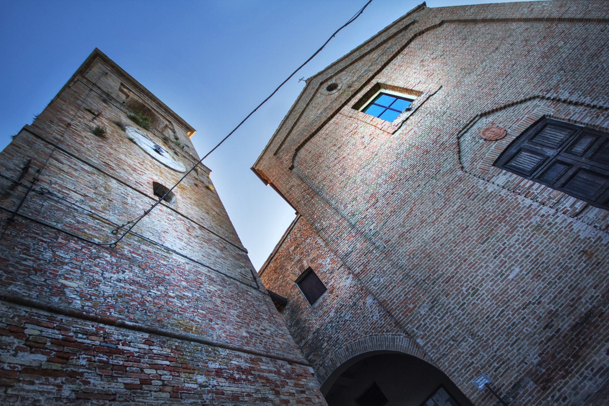 Mondaino - RN-Torre Civica 1 - SilviaTinti.com - Mondaino (RN)