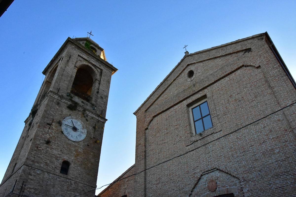 Torre Portaia e Chiesa di San Michele - Daniela Lorenzetti - Mondaino (RN)