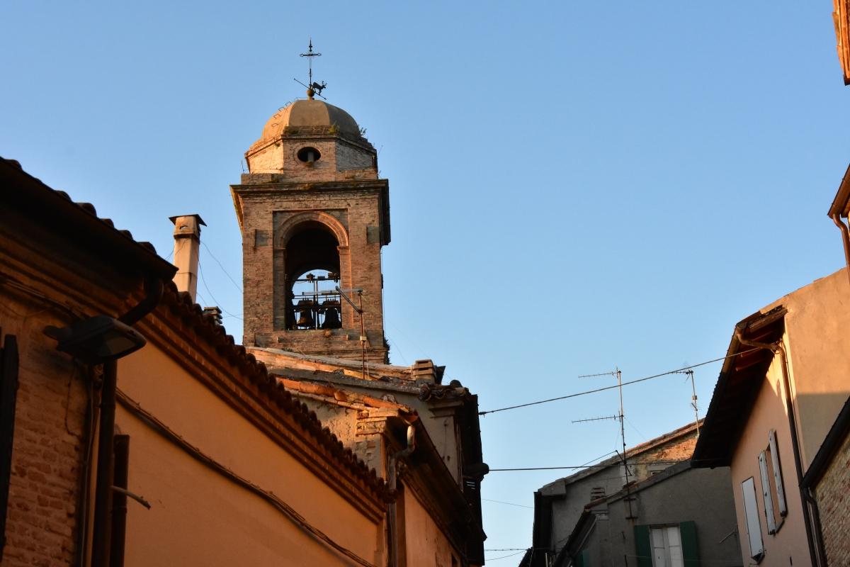 Torre Portaia, vista da via Borgo - Daniela Lorenzetti - Mondaino (RN)