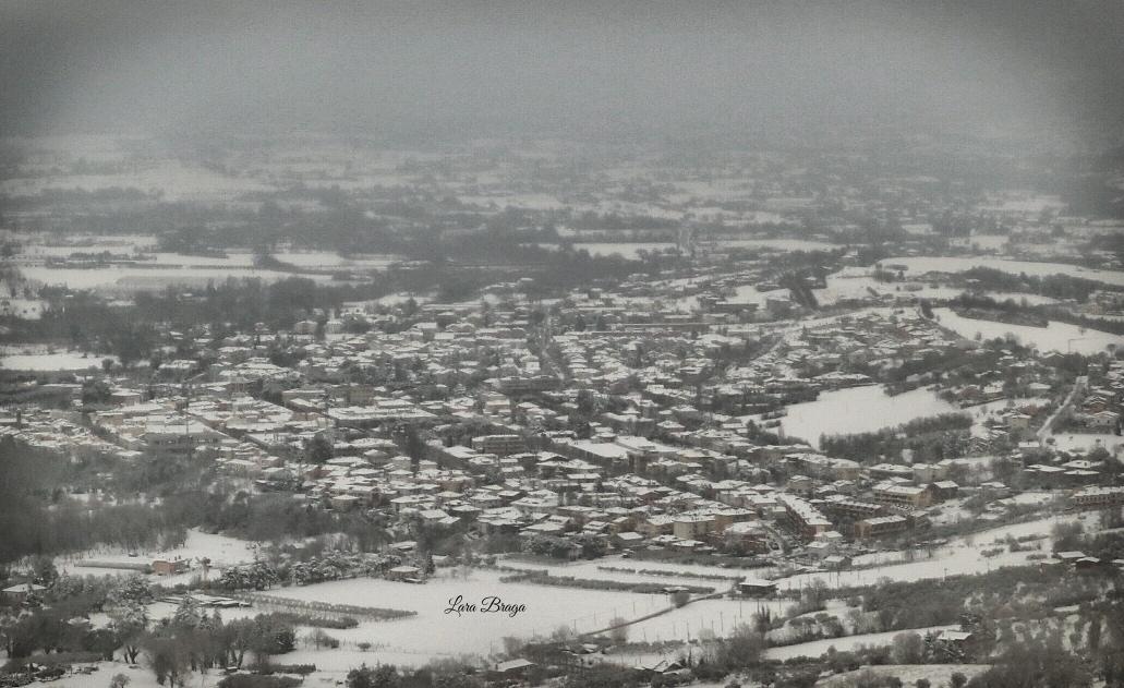 La Rocca e la neve6 - Larabraga19 - Montefiore Conca (RN)