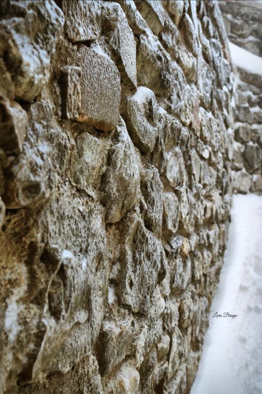 La Rocca e la Galaverna....ghiaccio sulla neve117 - Larabraga19 - Montefiore Conca (RN)
