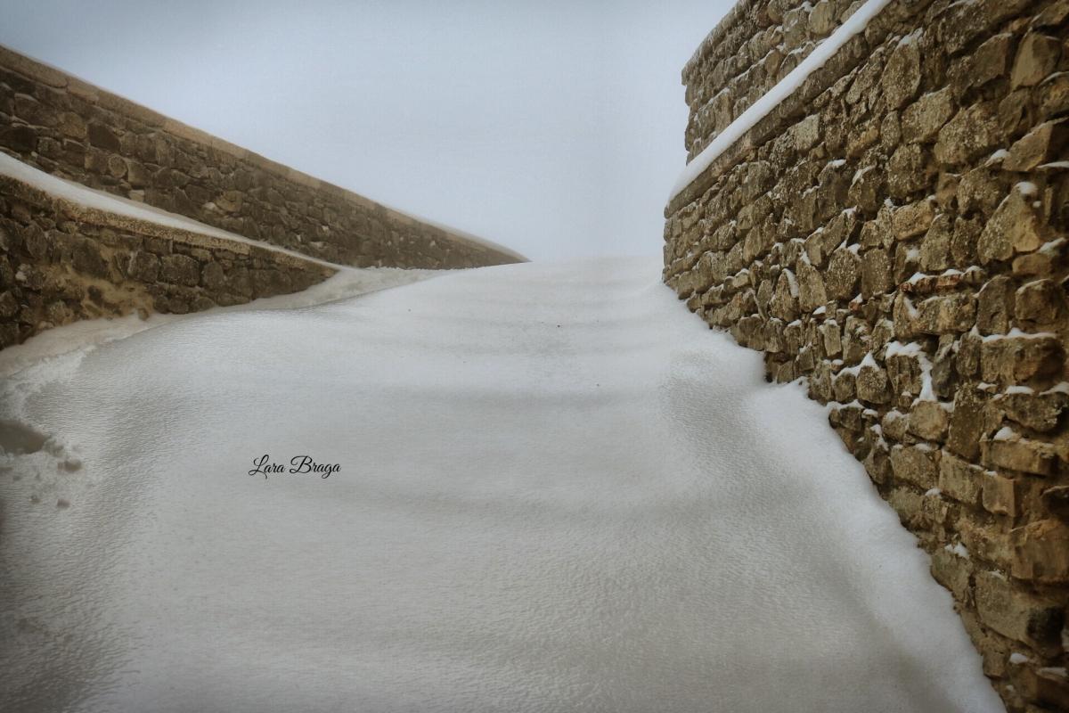 La Rocca e la Galaverna....ghiaccio sulla neve115 - Larabraga19 - Montefiore Conca (RN)