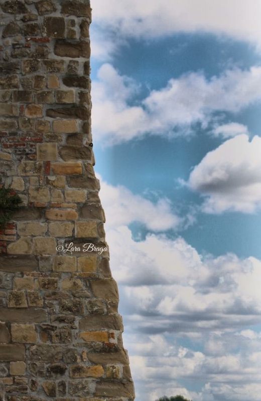 La Rocca , le sue sfumature - Larabraga19 - Montefiore Conca (RN)