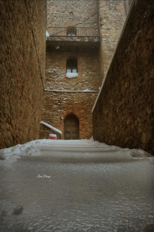 La Rocca e la Galaverna....ghiaccio sulla neve6 - Larabraga19 - Montefiore Conca (RN)