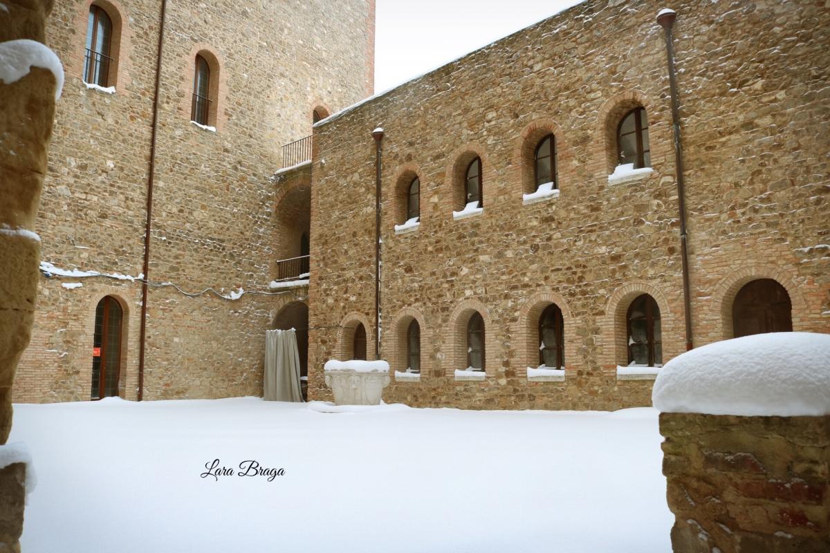 La Rocca e la magia della neve67 - Larabraga19 - Montefiore Conca (RN)